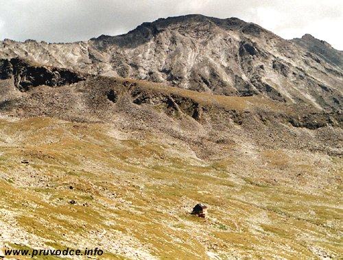 Kattowitzer Hütte - pohled od severozápadu