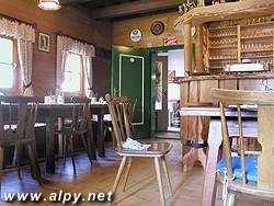 Gmünder Hütte - interier