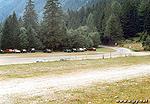 Parkoviště u lanovky Ankogelbahn