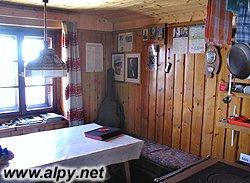 Mindener Hütte - kuchyňka