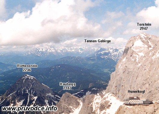 Rottenstein, Hunerkogel, Tennen Gebirge, Torstein