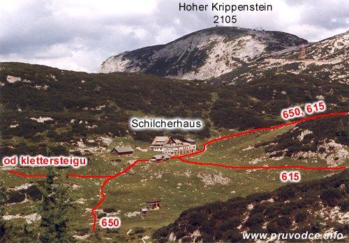 Schilcherhaus (Gjaidalmhaus) a Krippenstein