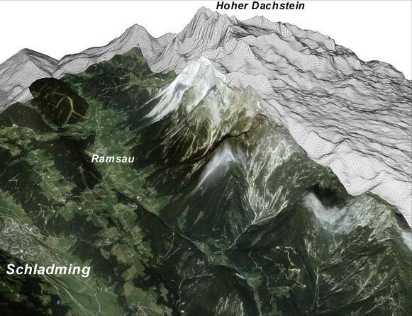 Panorama Dachsteinu