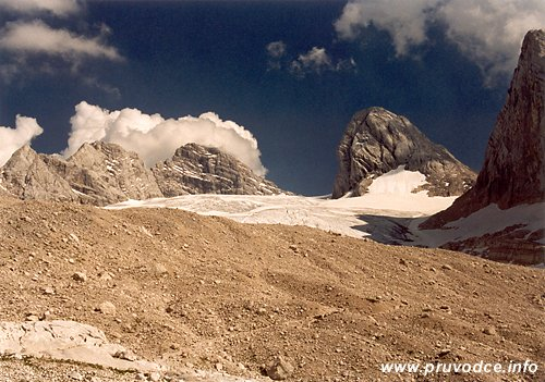 Hoher Dachstein od chaty Adamekhütte