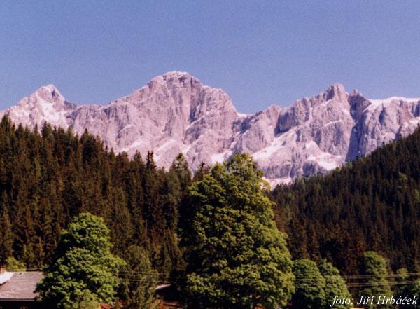masiv Dachsteinu od jihu