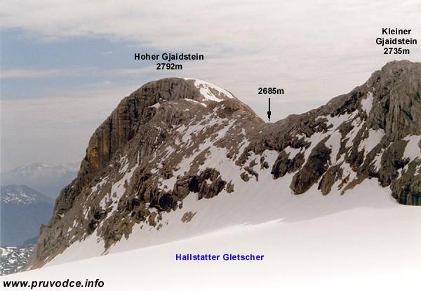 Hoher Gjaidstein a Kleiner Gjaidstein