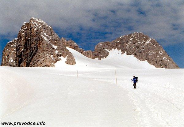 Hoher Dachstein, Hallstätter Gletscher, Niederer Dachstein