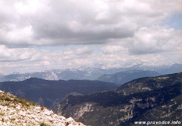 Totes Gebirge z Krippensteinu