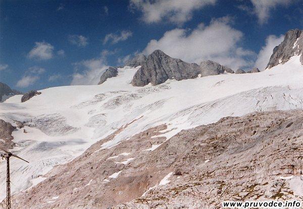 Hallstattský ledovec, Niederer Dachstein, Hoher Dachstein