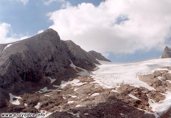 Hallstattský ledovec, Hoher Gjaidstein, Kleiner Gjaidstein