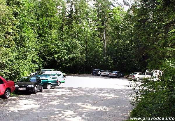 Hallstatt - parkoviště