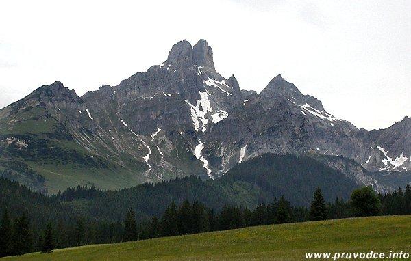Bischofsmütze a Hofpürglhütte