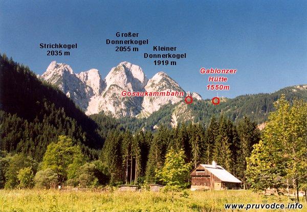 Kleiner Donnerkogel, Grosser Donnerkogel, Strichkogel