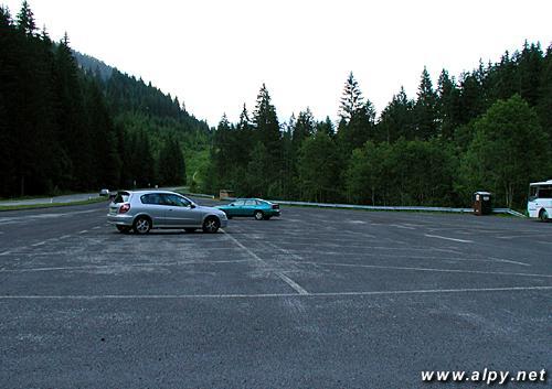 Vorderer Gosausee - parkoviště