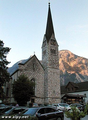 Hallstatt - evangelický farní kostel