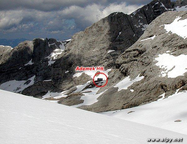 Adamekhütte z Windleger scharte