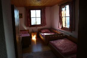 Gablonzer Hütte - pokoj