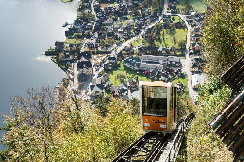 Salzbergbahn Hallstatt