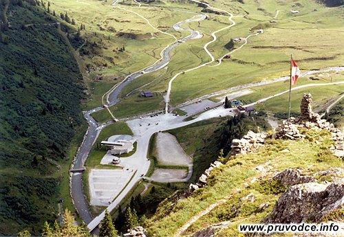 Sportgastein - pohled od Bockhartseehütte