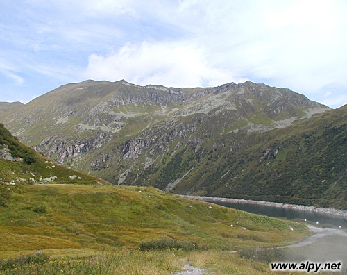 Bockhartseehütte - pohled k severu