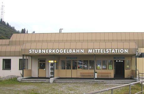 Stubnerkogelbahn - prostřední stanice