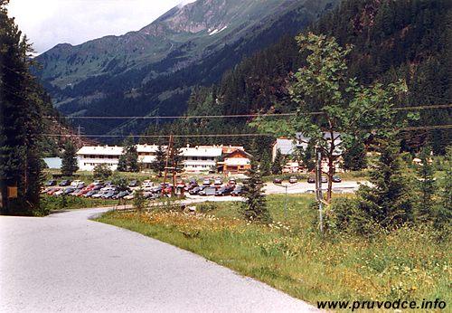 Parkoviště Enzingerboden