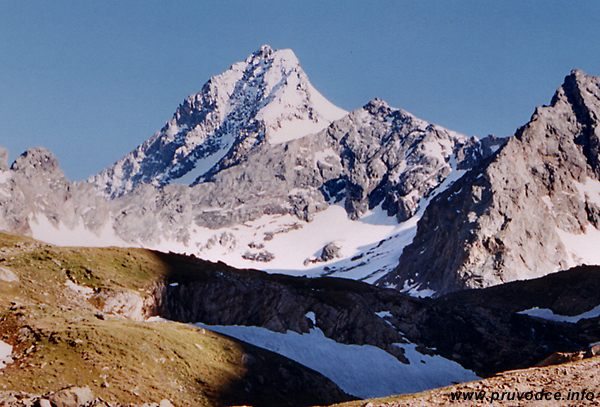 Grossglockner - pohled od jihovýchodu