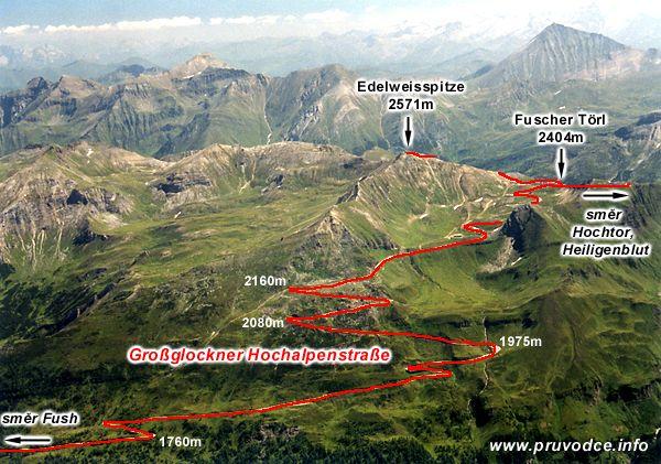 Grossglockner Hochalpenstrasse - severní část