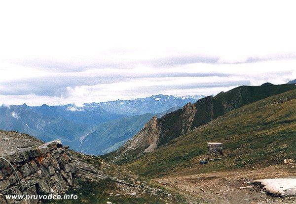 Glorerhütte - pohled k západu