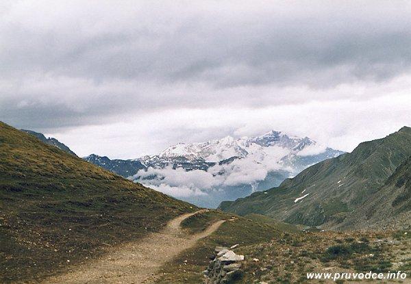 Glorerhütte - pohled k východu