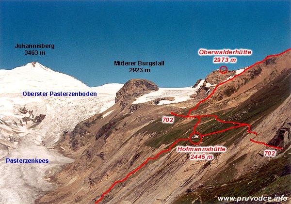 Oberwalderhütte a Hofmannshütte