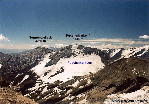 Sonnenwelleck, Fuscherkarkopf a Fuscherkarkees
