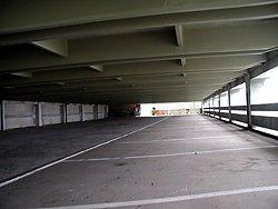 Kesselfall - krytá parkoviště