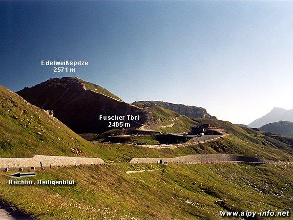 Fuscher Törl a Edelweißspitze