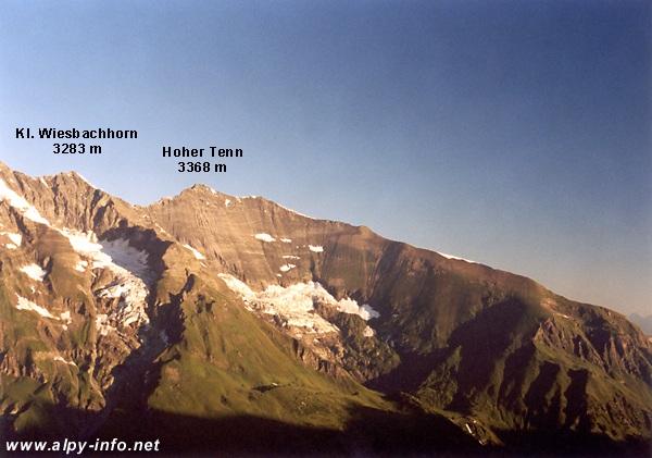 Hoher Tenn a Klein Wiesbachhorn