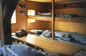 Gleiwitzer Hütte - matrazen lager