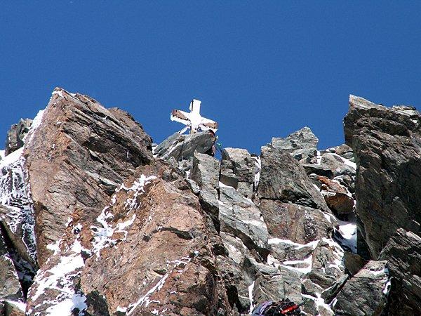 Stüdlgrat - vrchol na dohled
