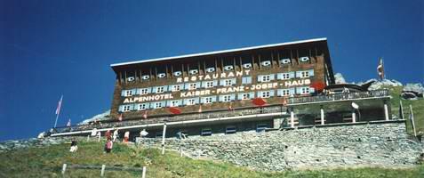 Původní Kaiser Franz Josef Haus
