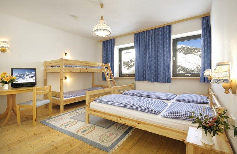 Rudolfshütte - pokoj