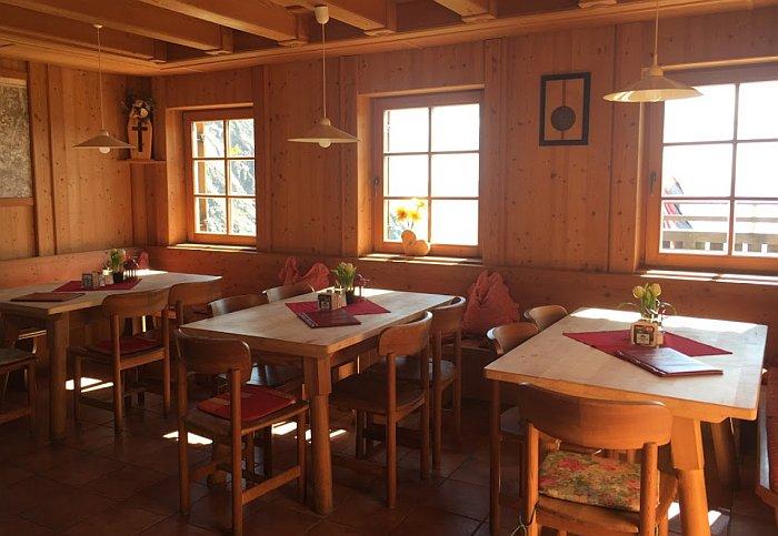 Sudetendeutsche Hütte - restaurace
