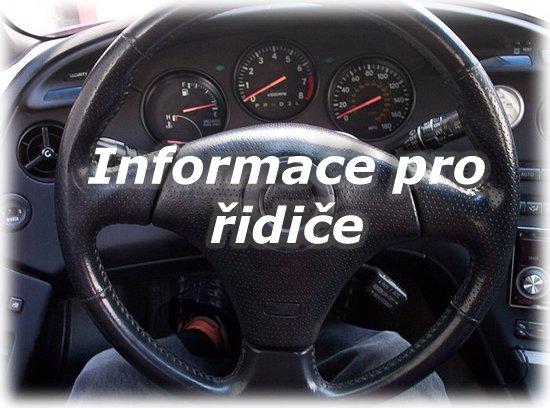 informace pro řidiče