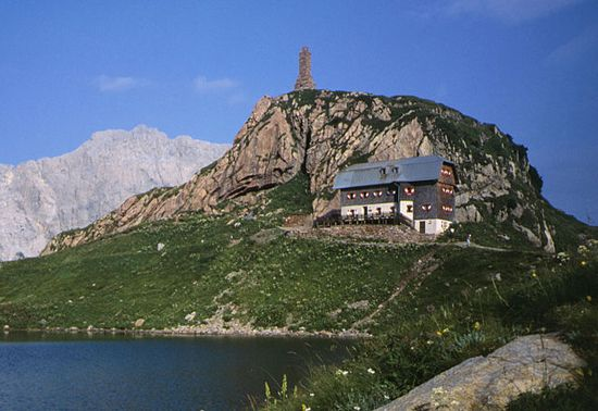 Wolayerseehütte