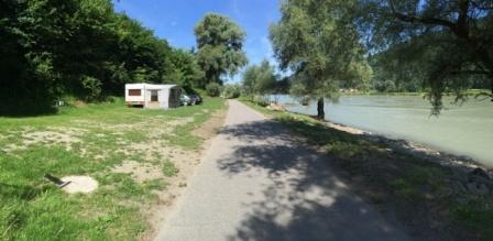 Camping an der Donau