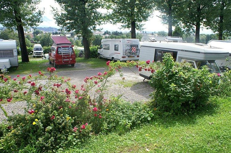 Camping Panorama Stadtblick