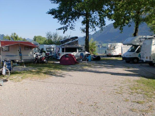 Camping Seecamping Wolfgangblick