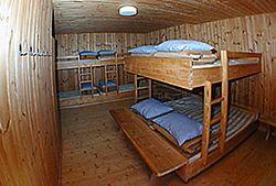 Kürsinger Hütte - společná noclehárna